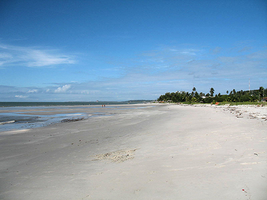 On the east side of the island, you'll find miles of sandy beaches