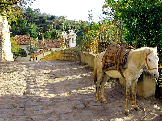 Santa Lucia not only enjoys perfect weather but will remind you of medieval Spain