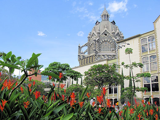 Medellín's Plaza Botero is a place to relax and enjoy the city
