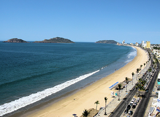 The beaches here in Mazatlán are second to none