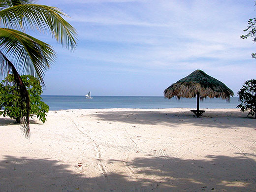 The beaches of Roatan, Honduras, are an excellent English-speaking option for many