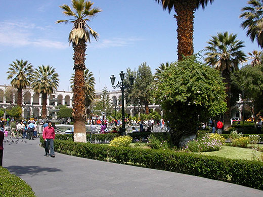 I believe colonial Arequipa is Peru's best expat destination