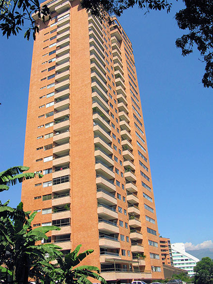 Modern, high-quality real estate is the norm in Medellín's El Poblado neighborhood.