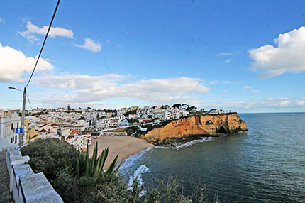 Cliff-top properties in Carvoeiro have the convenience of both town and the beaches