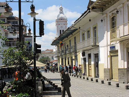 Downtown Cuenca is one of the Americas' best colonial centers