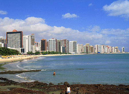 Fortaleza is the capital of the state of Ceará, and the hub of its economic activity