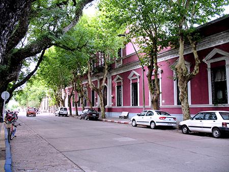 Street in Uruguay