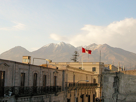 Colonial city of Arequipa