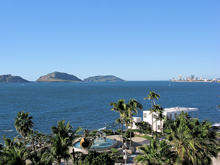 Mazatlán has a wealth of properties with a view, even in the historic center