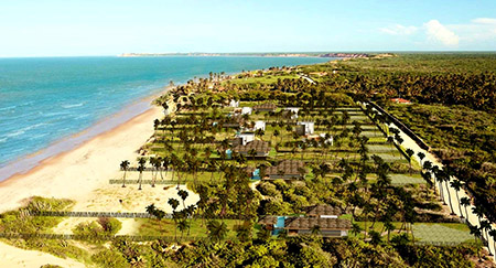Reserva da Praia's access road is finished, and electricity is now at 30% of the lots