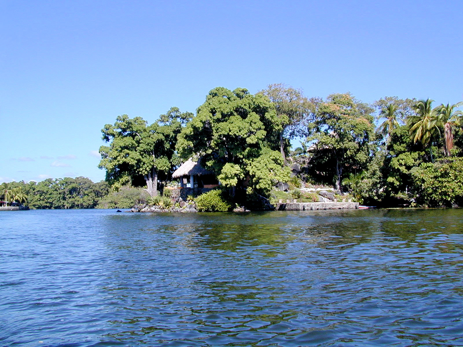 A private island is perfect for a weekend getaway or long-term stay
