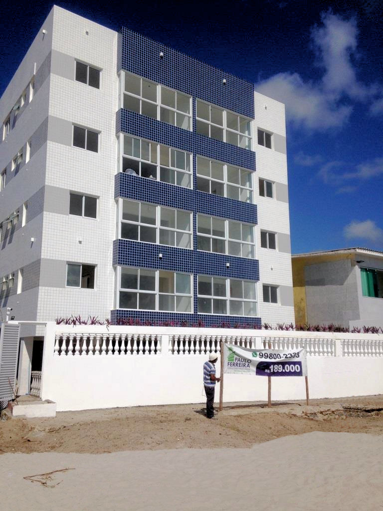 An exteriror view of the featured Morado do Sol property from the beachfront