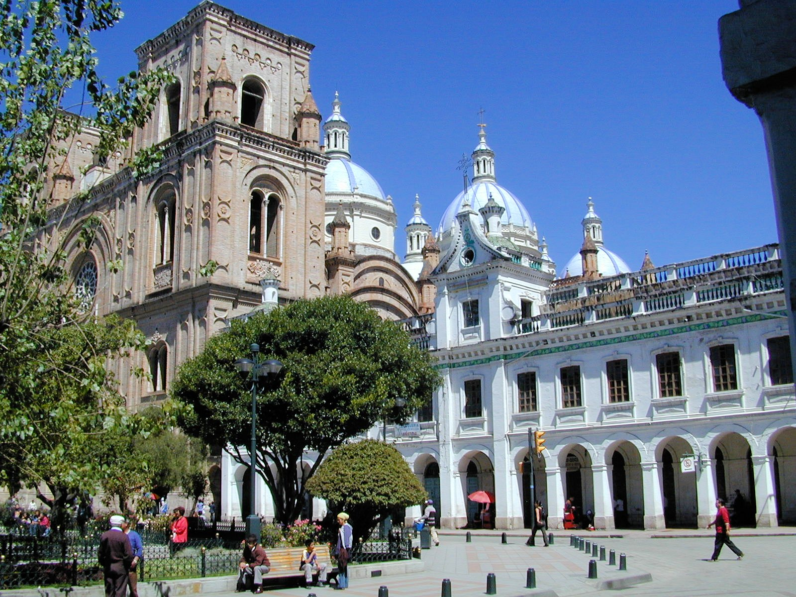 Cuenca's colonial grandeur is what initially brings most people to town