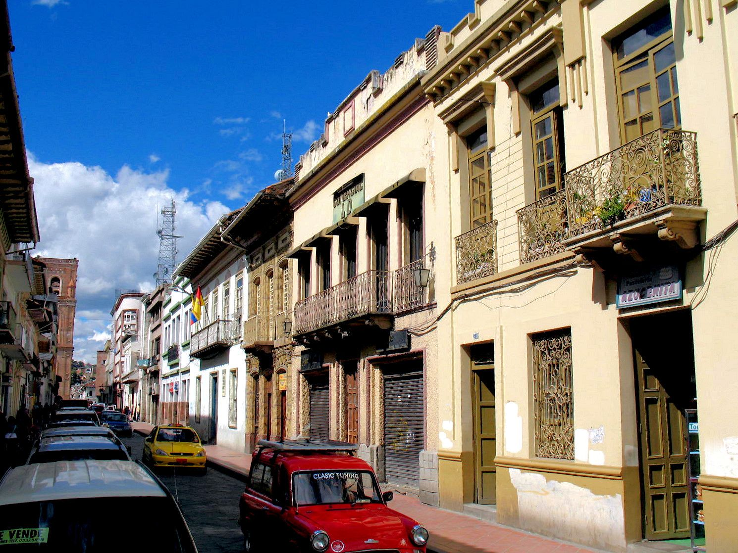 Cuenca has a large historic center with strict  preservation codes