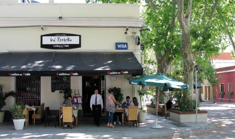 Da Pentella a Montevideo restaurant.