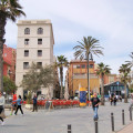 The Ramblas de Pouble Nou, leading down to the seafront, are lined by apartments sought after by tourists