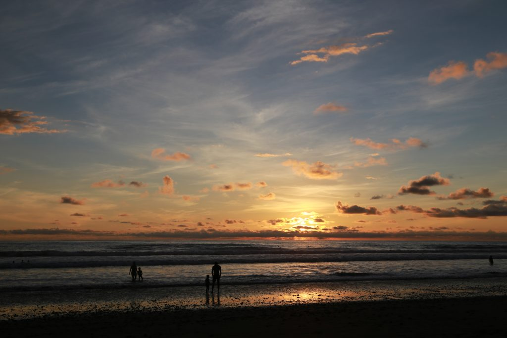 Sunset on Playa Hermosa