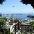 The views from the hills of Valparaíso are unbeatable
