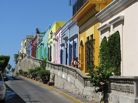 centro colored houses