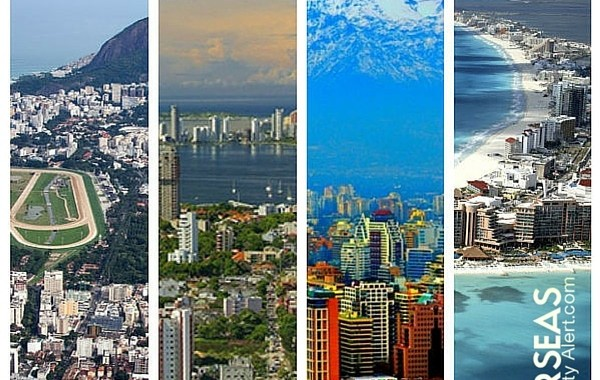Here we cover the four best bargain real estate markets, including: Mexico, Colombia, Chile, and Brazil.