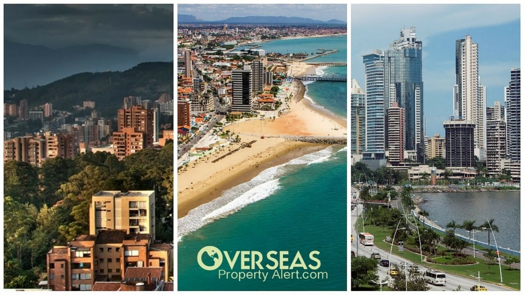 Overseas Property In Medellin, with its tree lined streets , Northeast Brazil, with gorgeous beaches, and Panama City, the Manhattan of Central America.