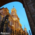 The Basílica catedral is mandatory place to visit when looking at Arequipa, Peru's Real Estate