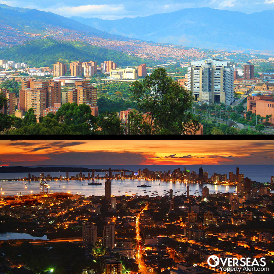 A Comparison Of Medellin Vs Cartagena.. Beach or mountain?