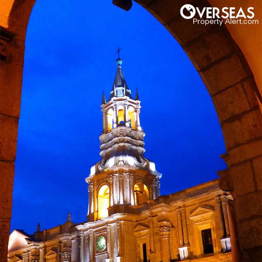 Arequipa Cathedral, Peru