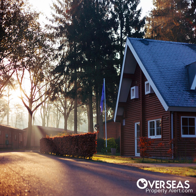 property investments overseas can be affected by exchange rates.