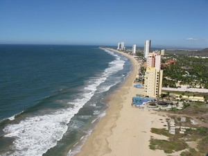 The impressive view from the existing north tower of Las Gavias Grand Beach-from-North-Tower