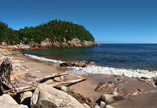 The Maritime provinces are known for their unspoiled, rugged coastline (Photo by Tango 7174)
