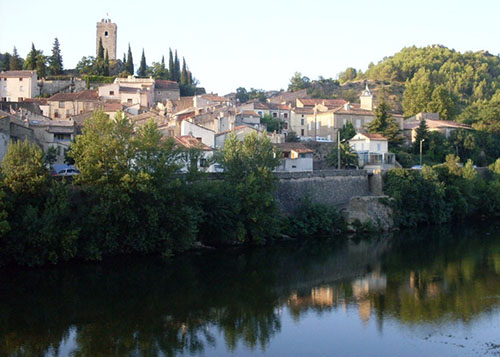 The village of Cessenon-sur-Orb, at the heart of the Languedoc