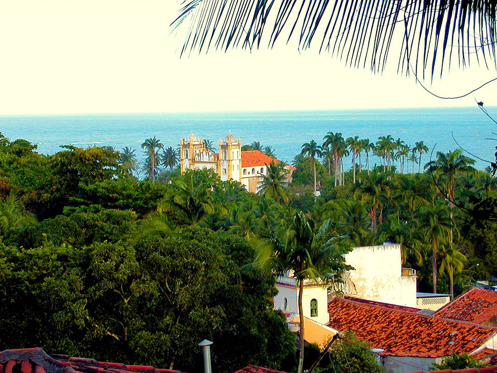 Ocean View from Olinda Brazil