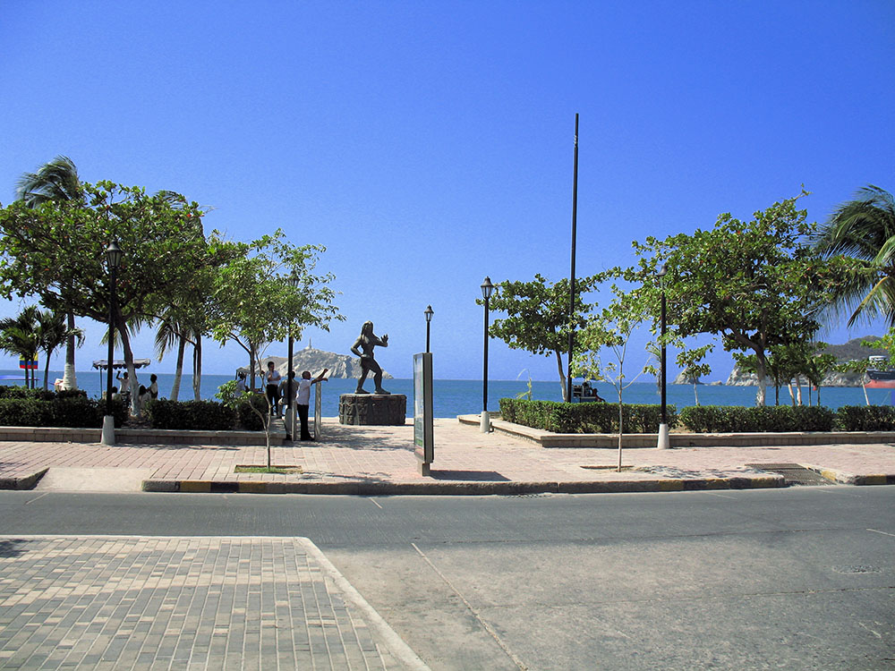 Santa marta waterfront acroos from the first building