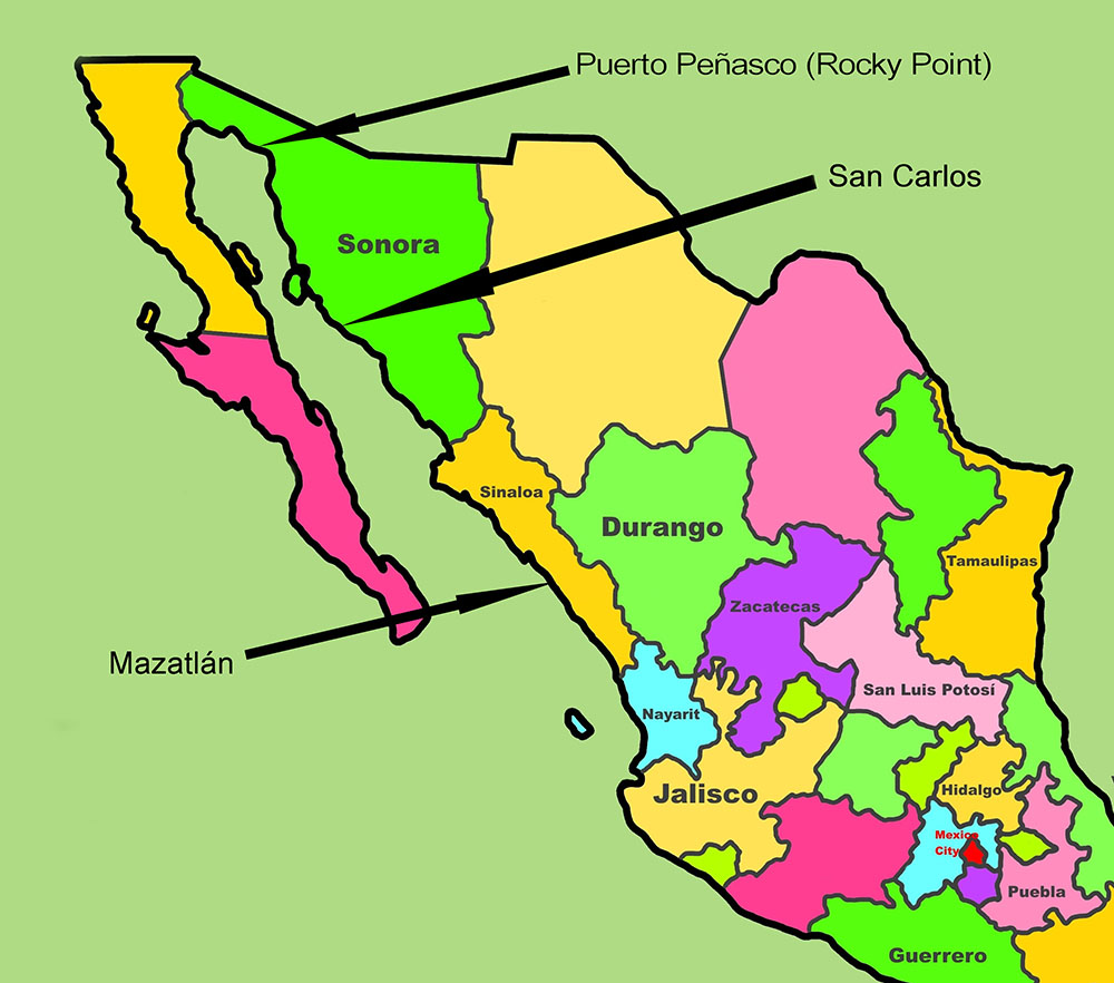 Map-Mexico-States-Beach-Towns