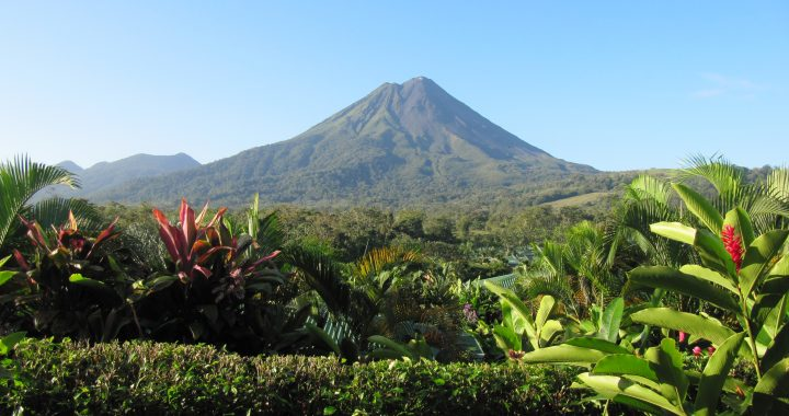 Costa Rica Lake Arenal Volcano
