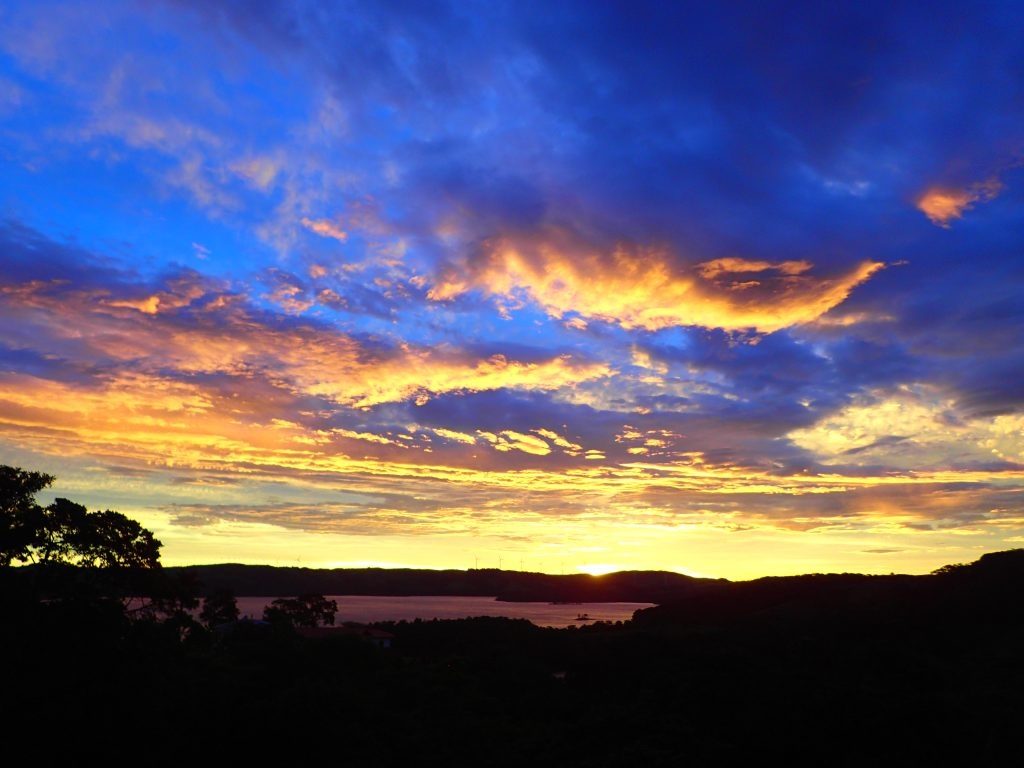 Costa Rica Sunset Lake Arenal