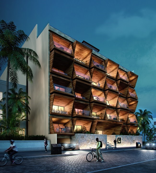 Luxury Condo Apartment Building Mexico 4