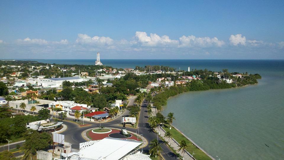 Quintana Roo bay, Mexico