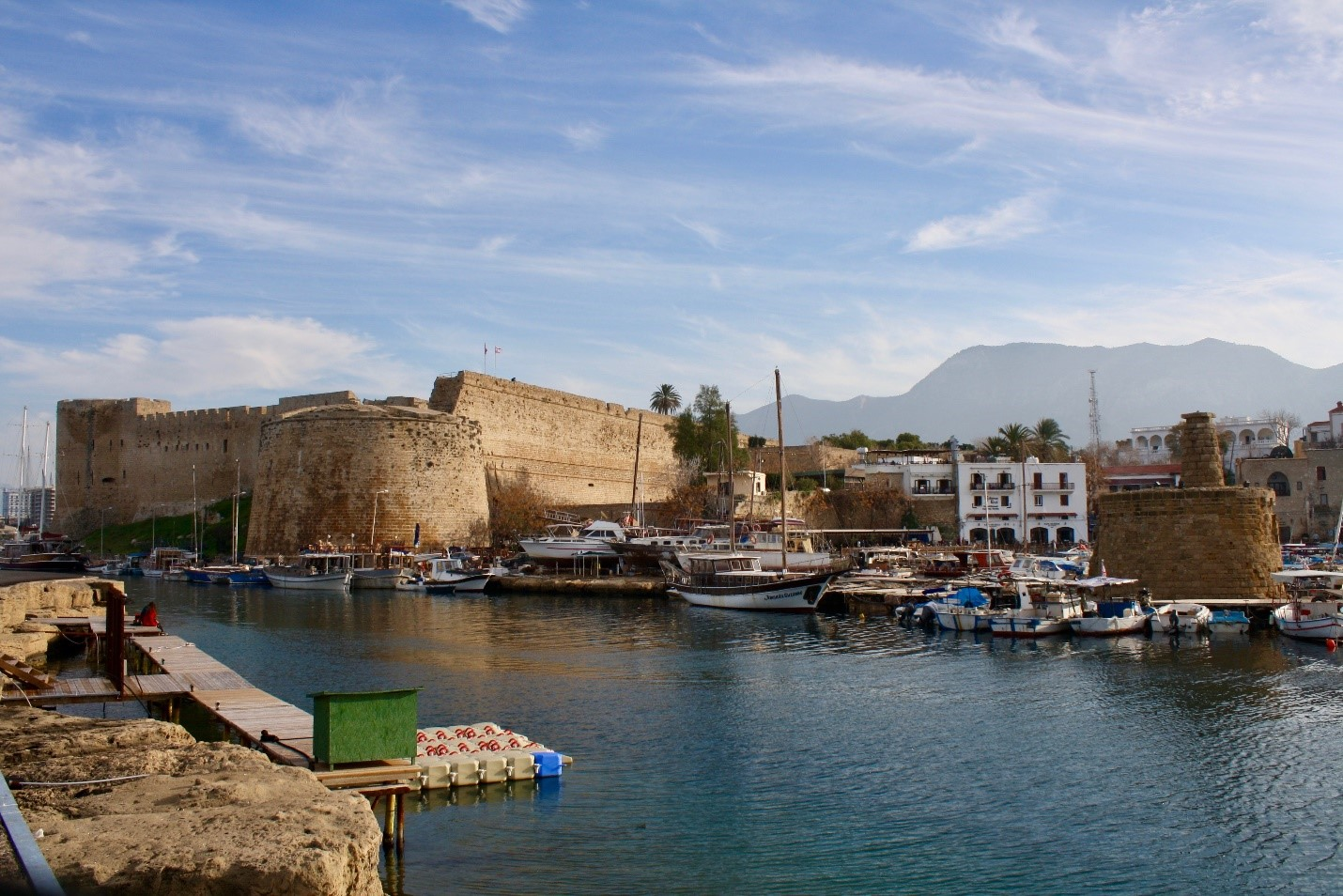 Kyrenia Castle by the harbor
