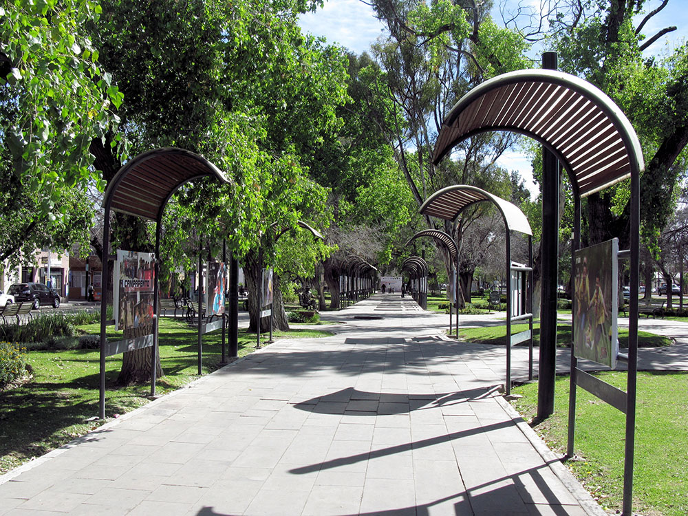 Park in Durango, Mexico