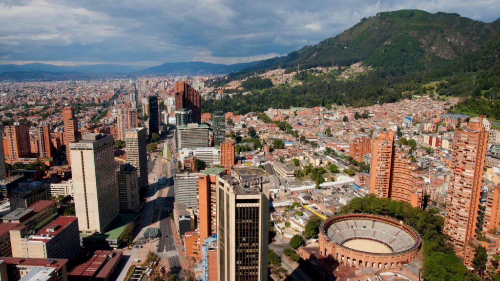 bogota colombia cityscape