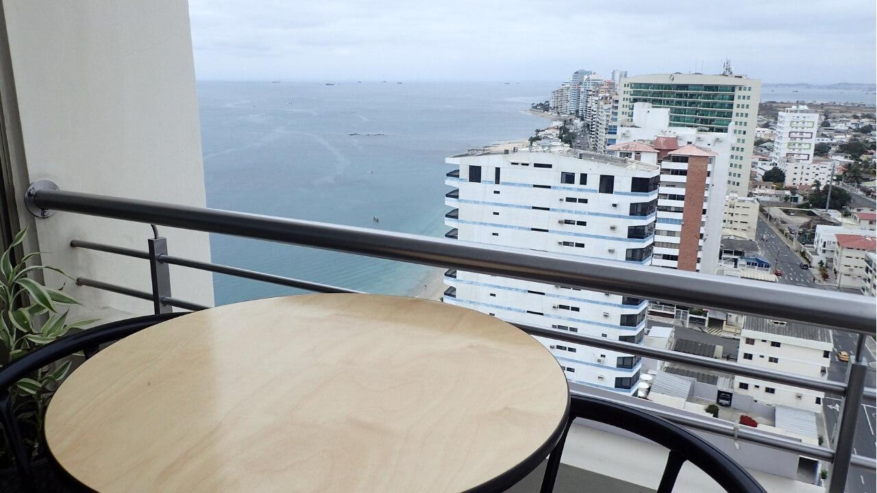 Aquamira balcony