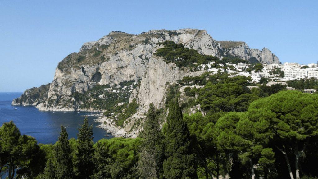 Southern Italy Coastline