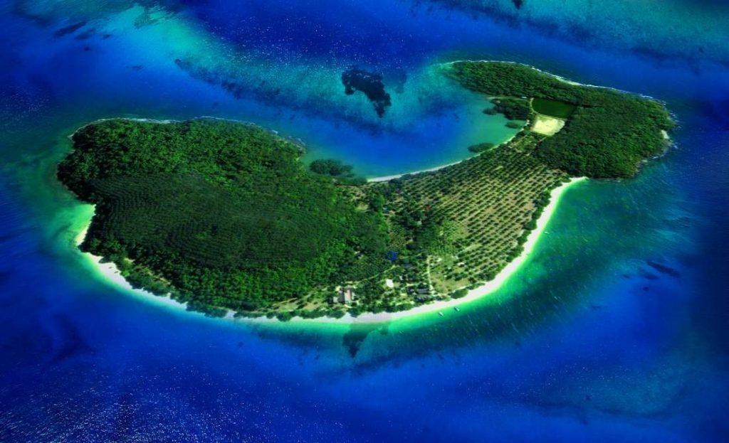 Rangyai Island Aerial View