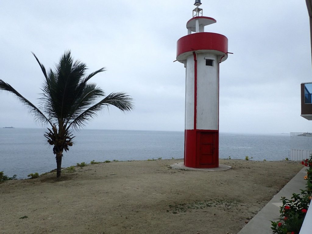 Ballenita lighthouse, Ecuador