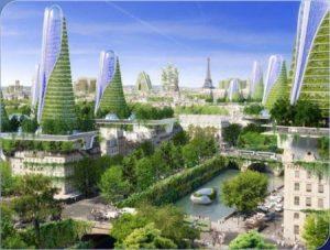 futuristic paris II