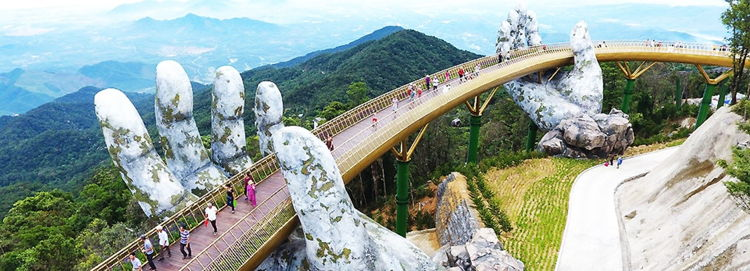 Bridge in Da Nang, Vietnam