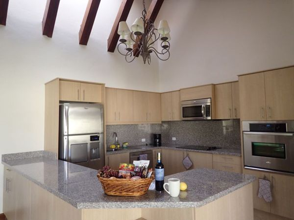 The spacious kitchens offer granite counters and stainless-steel appliances