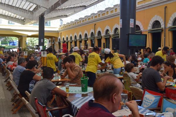 Saturday afternoon market, Brazil